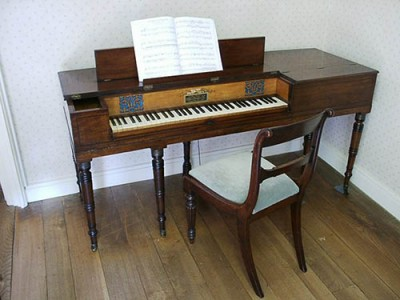 Muzio Clementi piano belonging to Jane Austen