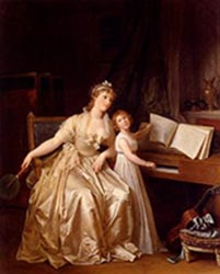 The Piano Lesson, Girard - 1810